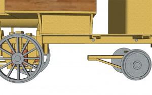 Trailing Wheel Boom - Short Version