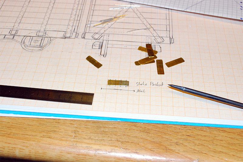 Scribing the bending edges.