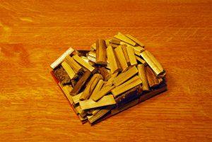 Deckel mit Holzladung