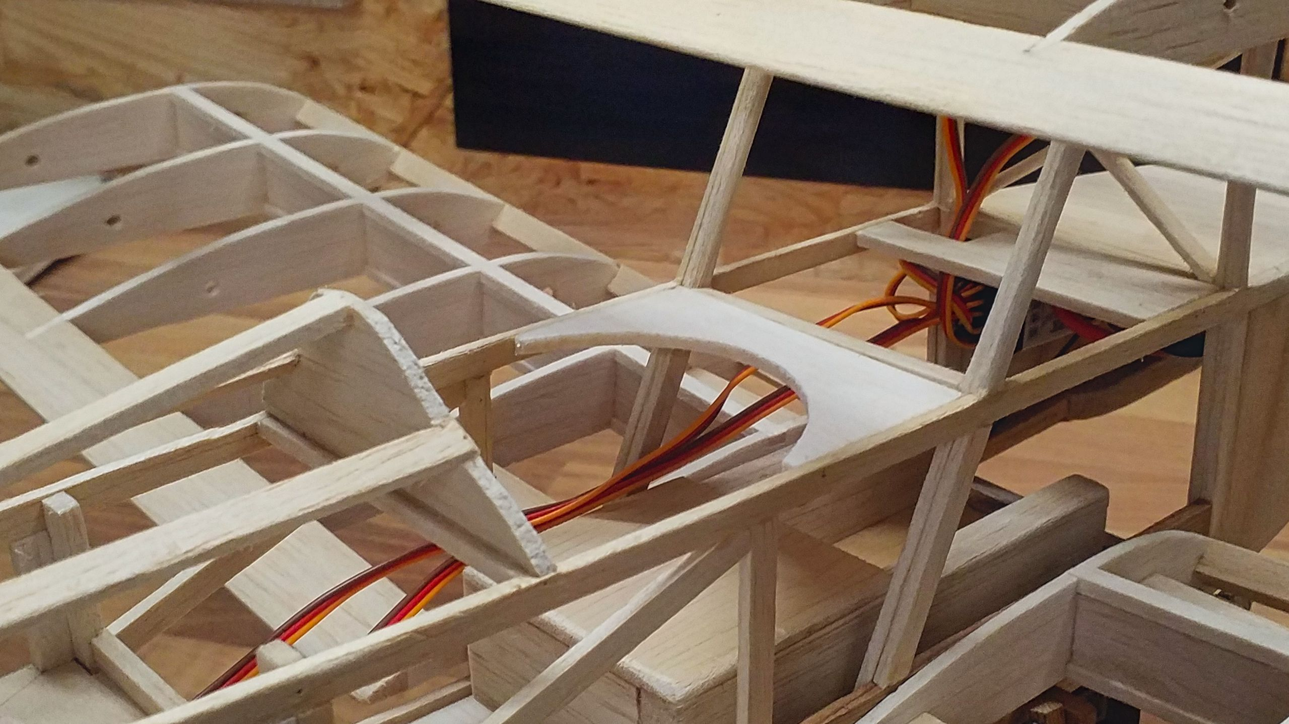 The cockpit has received a frame.