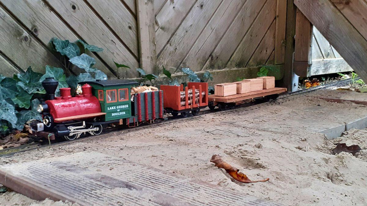Short Train im Einsatz.