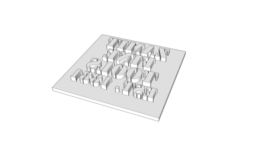 The crate stamp within the 3D editor.